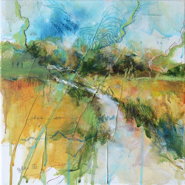 22k mixed media painting