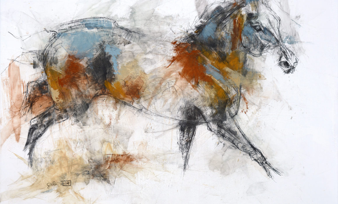 Equine Nude 13p painting