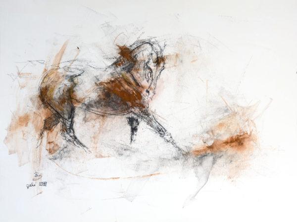Open Heart horse paintinng