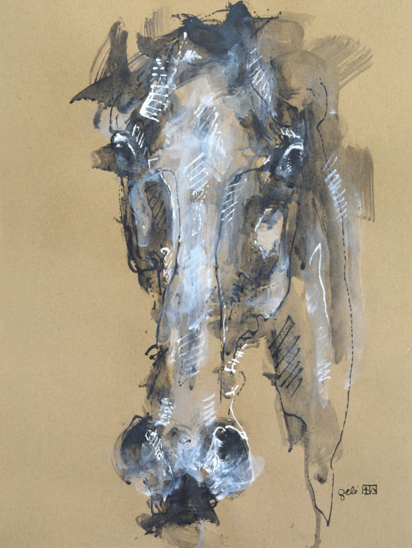 Face to Face 1a Horse Painting