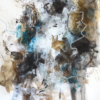 trace abstract painting