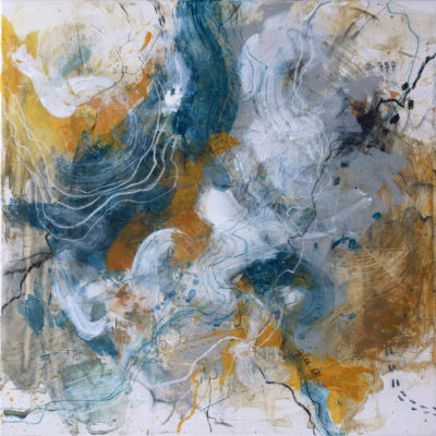 emotions map abstract painting