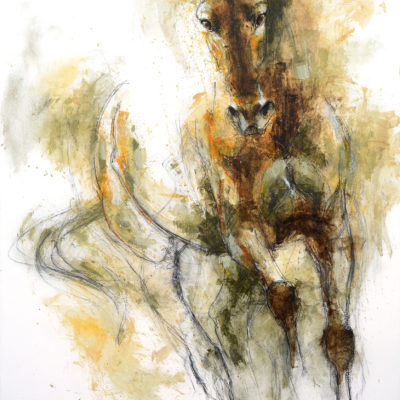 nu equin 125t horse painting