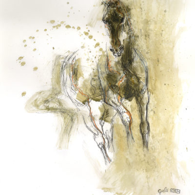 nu equin 126t horse painting