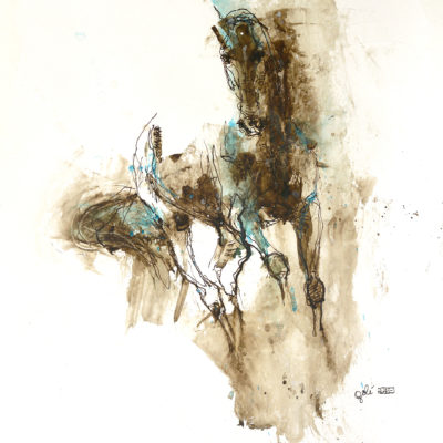 nu equin 127t horse painting