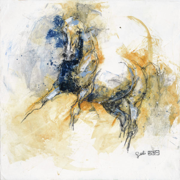 Nu Equin 129t equine painting